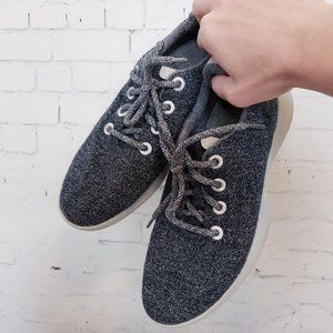 Allbirds Wool Shoes Size 9 Gray Washable Runners